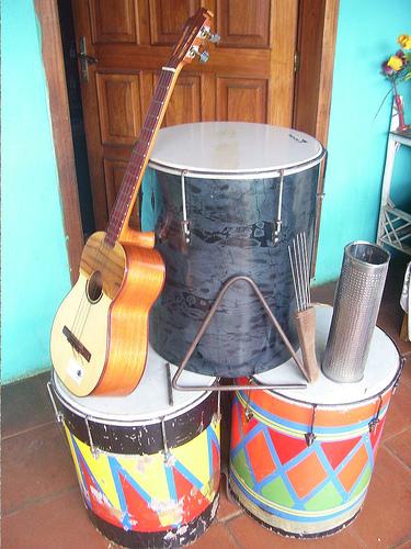 Los instrumentos tradicionales del calipso
